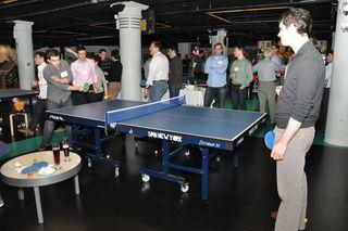 Pong scene